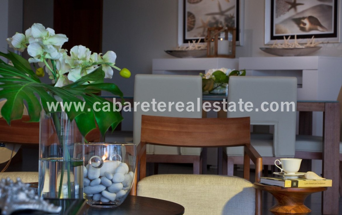 Stunning 2bedroom beachfront apartment in five star gated community Cabarete Dominican Republic