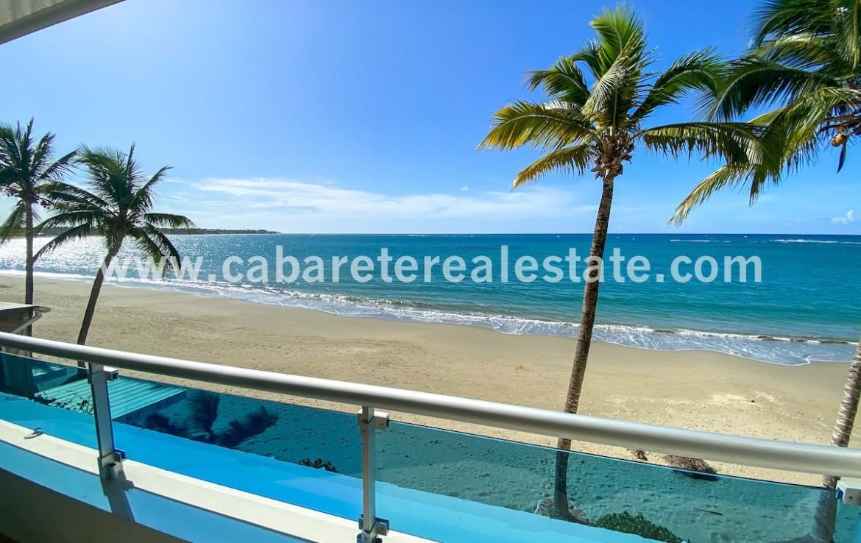 Stunning beach and ocean views from Cabarete Condo Dominican Republic