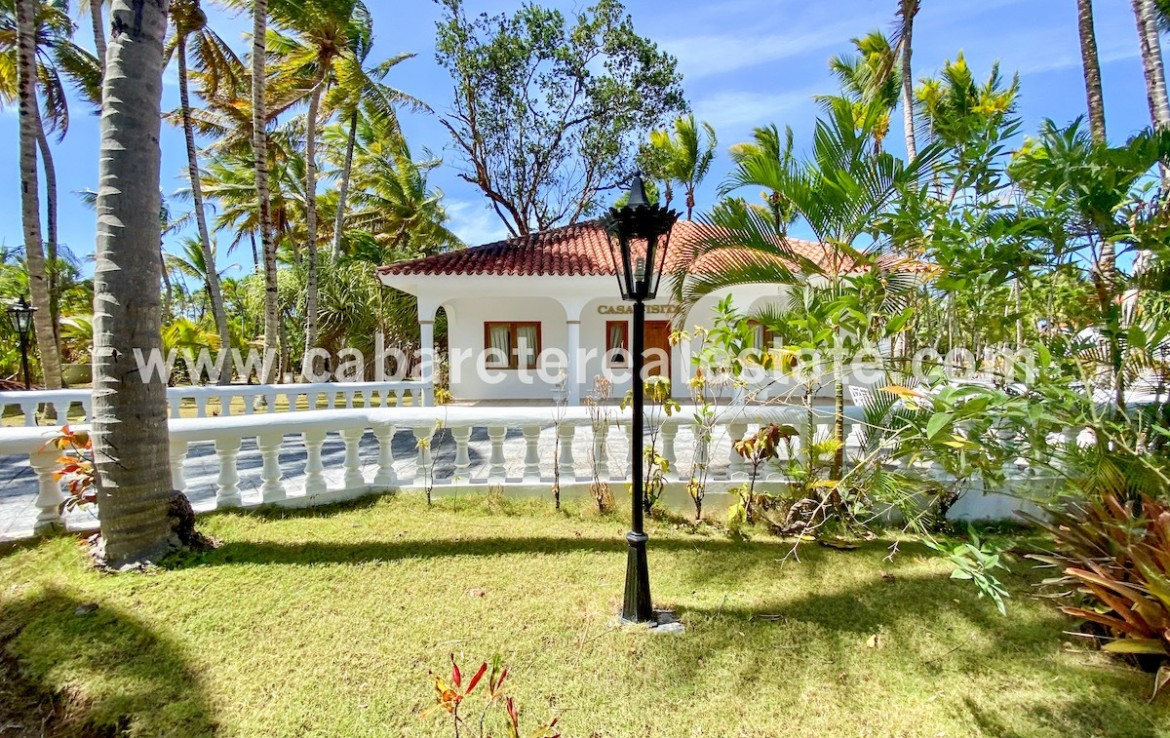 Two bedroom guesthouse near to luxurious villa north coast of the Dominican Republic Cabarete