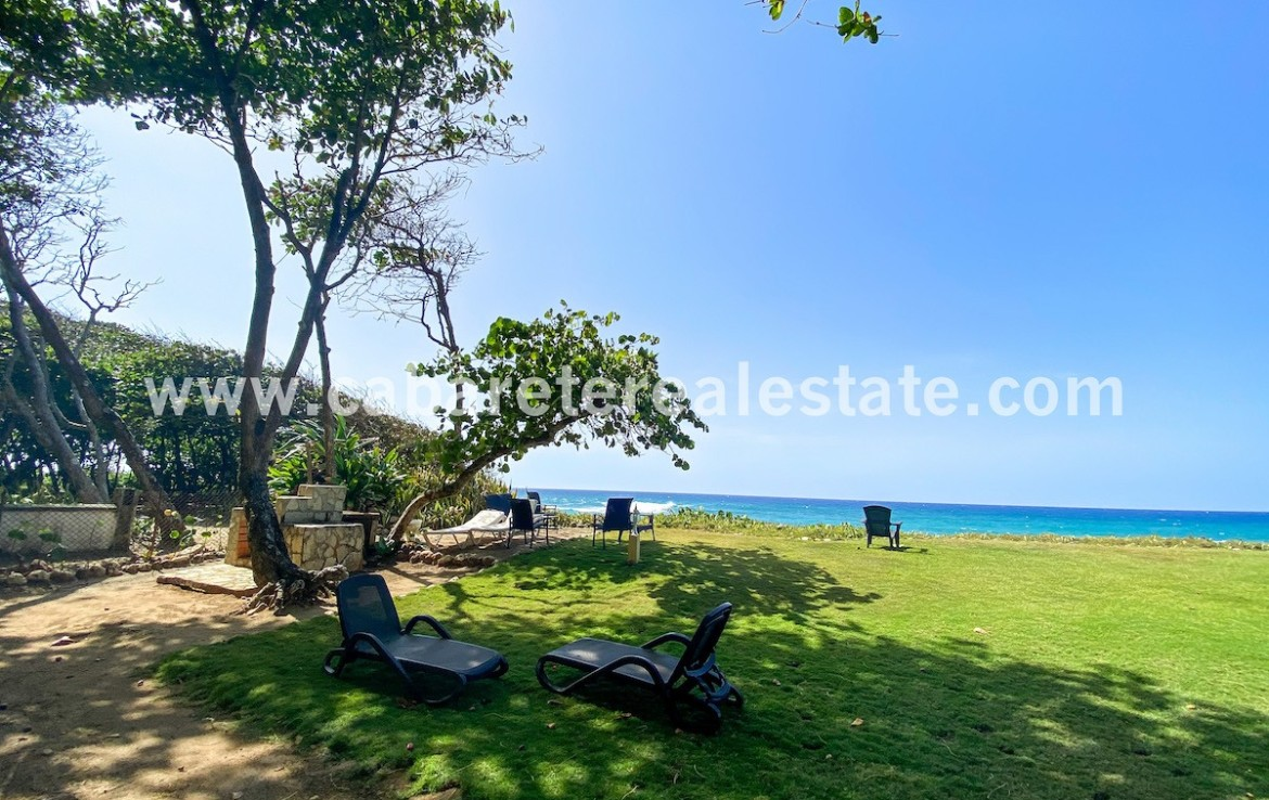 Views beachfront condo Cabarete Real Estate