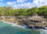 beach club close to the villa in luxury comunity with amazing ocean view between cabarete and sosua