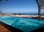 beachside pool with ocean views from your apartment on Cabarete Bay Dominican Republic luxury 1