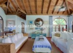 livingroom in this luxury villa close to the best beach on the north coast of the dominican republic between sosua and cabarete
