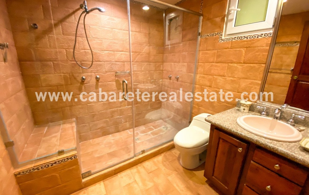 luxurious ensuite bathroom cabarete beachfront condo