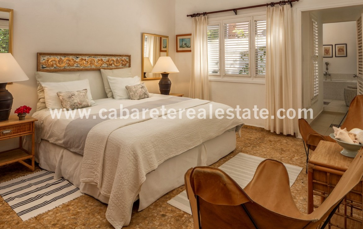 master bedroom in this luxury villa in the best gated community on the north coast of the dominican republic just between sosua and cabarete 1