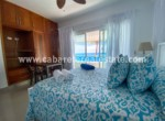 oceanview master bedroom in beachfront home Cabarete Bay Dominican Republic Real Estate Deal
