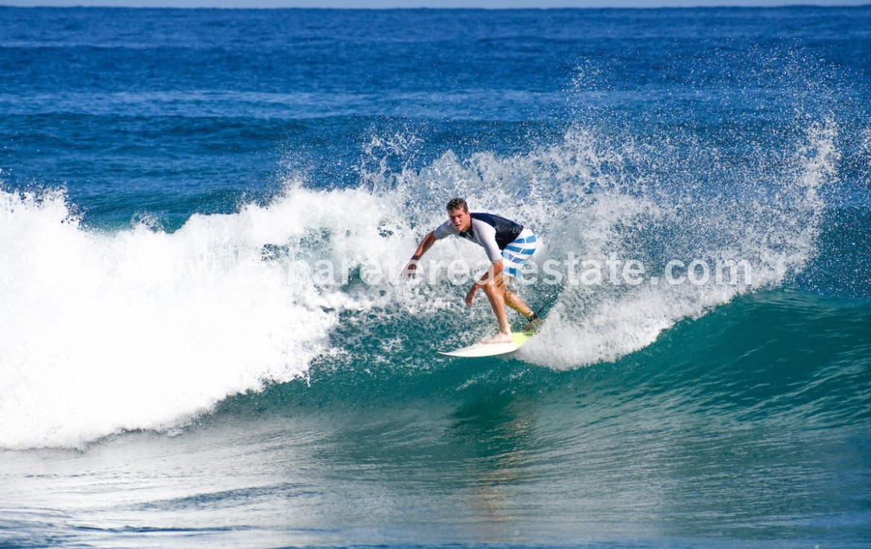 secret surf beach just a few steps away from your luxury villa