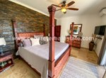spacious masterbedroom with ocean view at one of the best locations of cabarete in the dominican republic