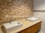 Beautiful backsplash in beachfront Cabarete home Dominican Republic