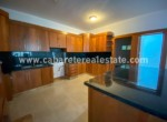 Fabulous kitchen with black granit counter tops in Beachfront apartment Cabarete Dominican Republic