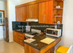 Fully equipped kitchen in beachfront studio Cabarete Real Estate