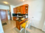 Kitchen in beachfront studio Cabarete Real Esate