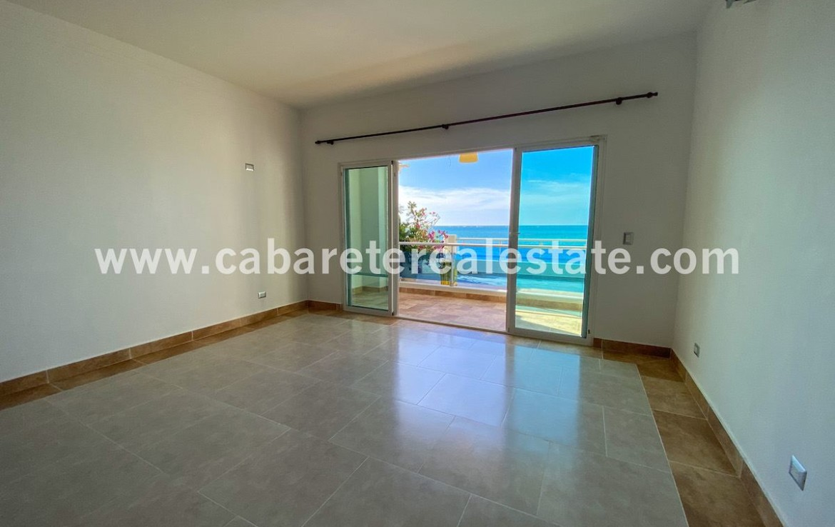 Master bedroom in Cabarete home by the beach Dominican Republic