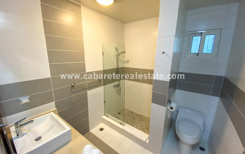 Modern bathroom apartment Cabarete Dominican Republic