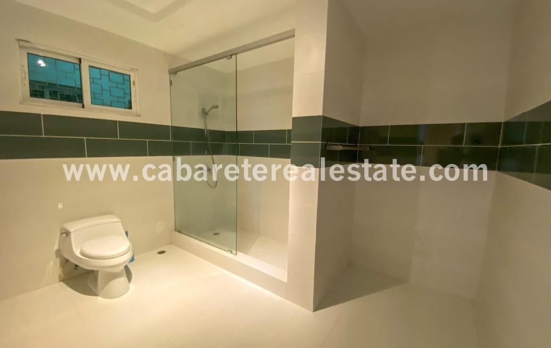 Oversized bathroom in beachfront home Cabarete Real Estate Dominican Republic