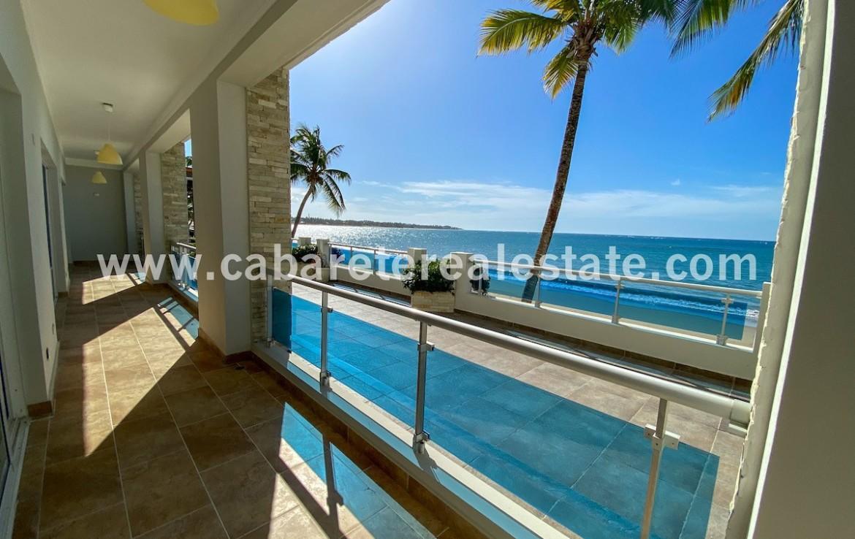 Pure beach views as far as the eye can see Cabarete Real Estate