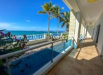 Spacious terrace in beachfront home Cabarete Real Estate Dominican Republic