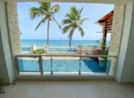 Spectacular beachfront studio Cabarete Real Estate