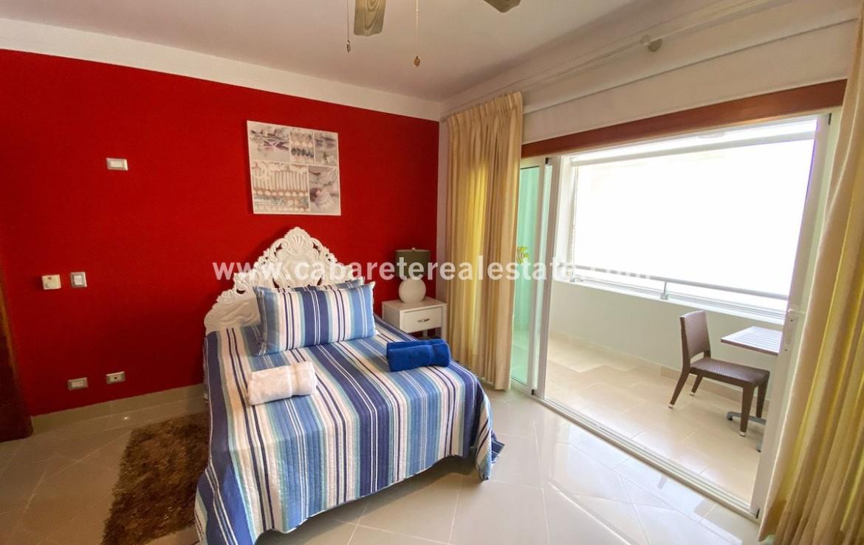 Studio with Terrace in beachfront residence Cabarete Dominican Republic