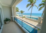 Stunning views from your beachfront studio in Cabarete town Dominican Republic