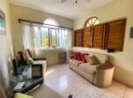 Living area two bedroom condo Cabarete Encuentro Beach