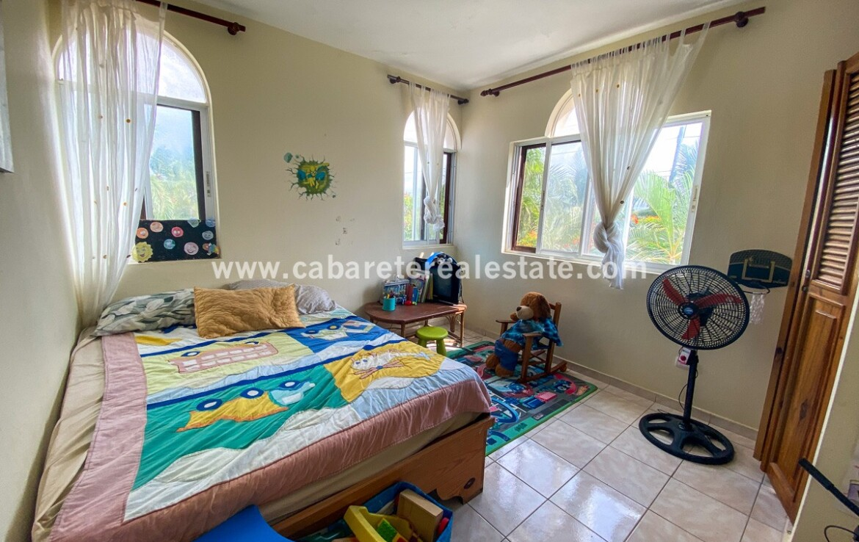 Master bedroom Encuentro apartment Cabarete