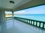 Beachfront balcony in Hotel Cabarete Real Estate