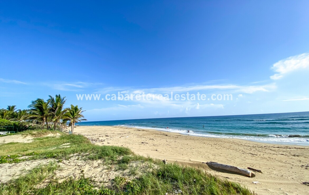 Beachfront development land Encuentro Beach Cabarete Dominican Republic Cabarete Real Estate