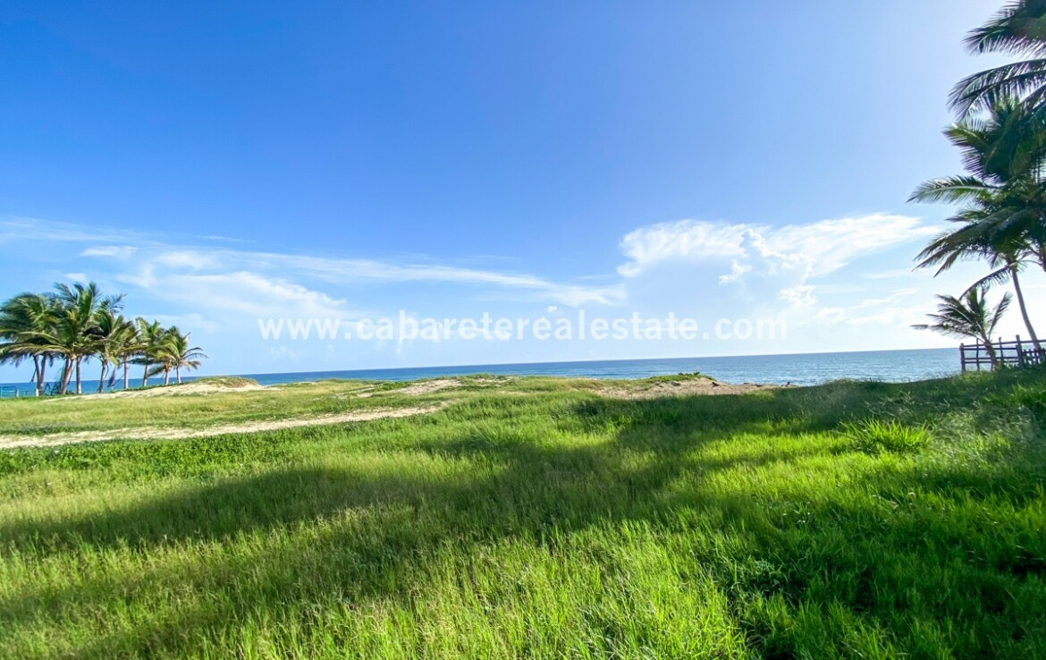 Beachfront land Encuentro Cabarete Real Estate Dominican Republic