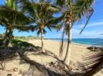 Beachfront land in half moon cove Cabarete Encuentro Dominican Republic Cabarete Real Estate