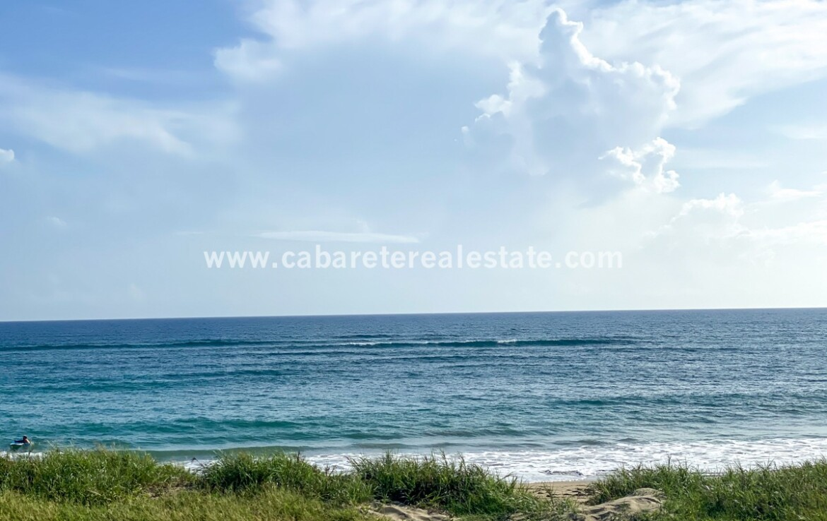 Build your dream home Cabarete Beachfront Land Encuentro Dominican Republic