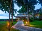 Garden area beachfront condo Kitebeach Dominican Republic