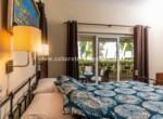 Guest bedroom in beach home Cabarete Dominican Republic