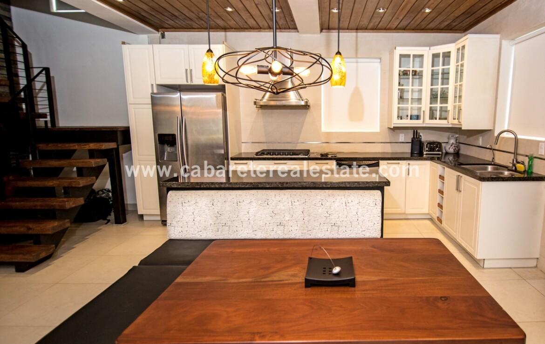 Kitchen in apartment boutique hotel sosua Dominican Republic