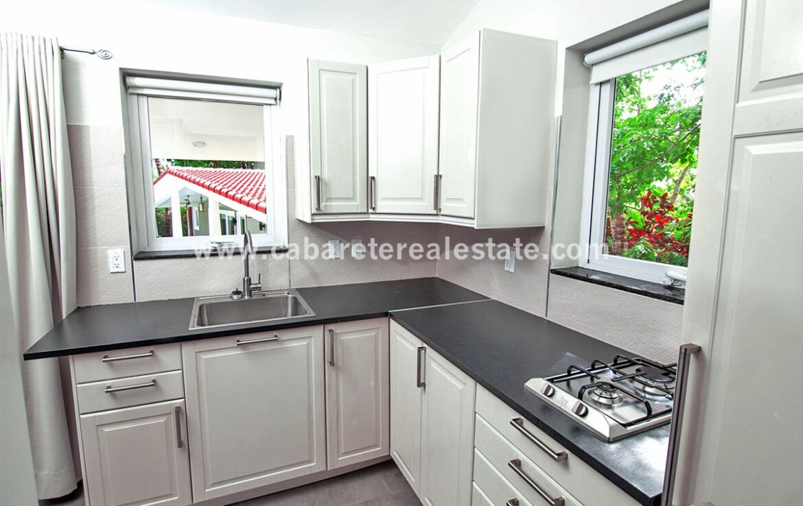 Kitchen with a view in boutique hotel sosua Dominican Republic