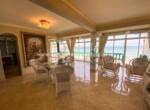 Living area Beachfront hotel Cabarete Real Estate