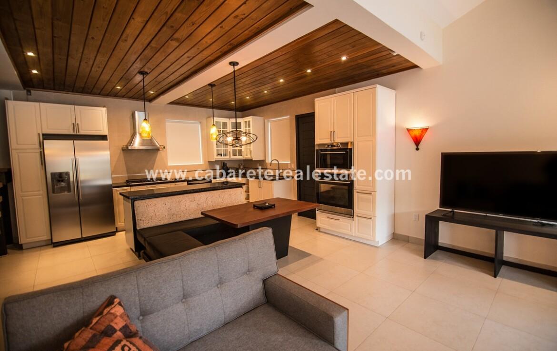 Living area apartment in Charming Boutique Hotel Sosua Cabarete Real Estate