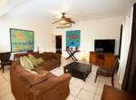 Living area beachfront apartment Cabarete Real Estate Dominican Republic