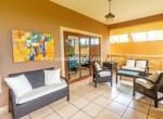 Living area beachfront home kitebeach Cabarete Real Estate Dominican Republic