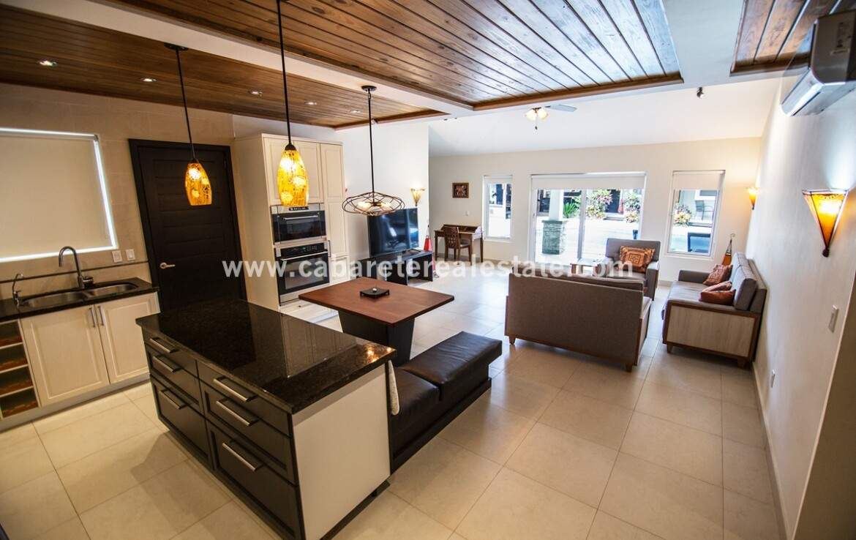 Living area in charming boutique hotel Sosua Dominican Republic
