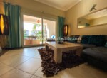Living area two bedrooms condo close to Kitebeach Cabarete Dominican Republic