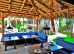 Relaxing area Boutique Hotel Dominican Republic