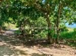 Road beside beachfront land to build dream home in Cabarete Encuentro Beach Dominican Republic