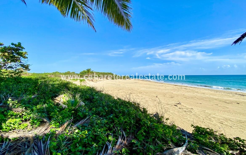 Spectacular beachfront lot Encuentro Cabarete Dominican Republic close to kitebeach