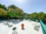 Spectacular roof top beach front terrace Hotel Cabarete Dominican Republic