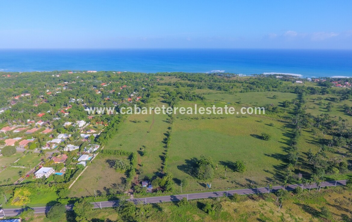 50 hectares beachfront development land Cabarete El Encuentro Dominican Republic 2