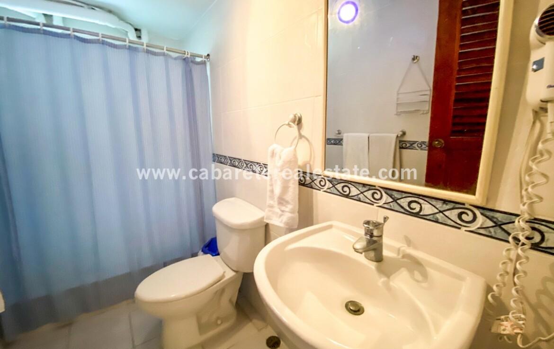 Bathroom in beach side home Cabarete Dominican Republic