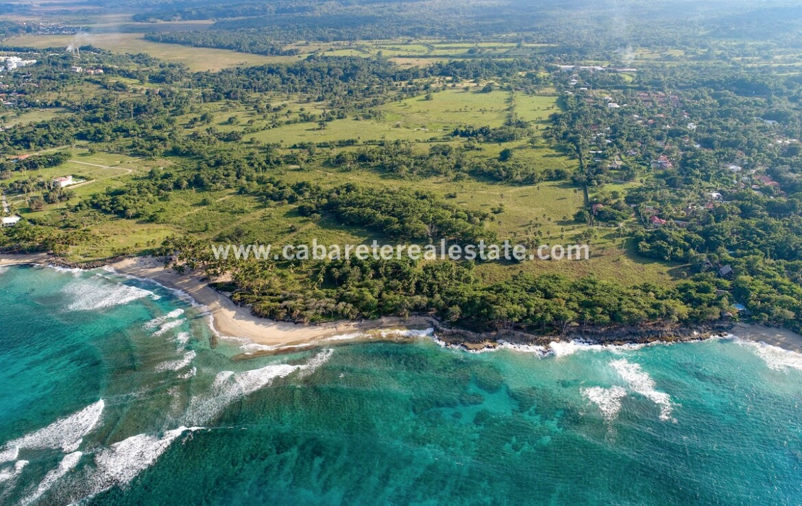 Beach front Land Playa Cabarete Dominican Republic