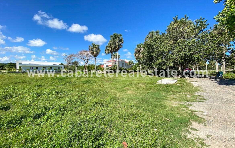 Beautiful plot of land second line from the beach El Encuentro Cabarete Dominican Republic 1 1