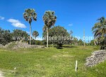 Build your dream home in the Caribbean. Beachside lot Encuentro Beach Dominican Republic Cabarete Real Estate
